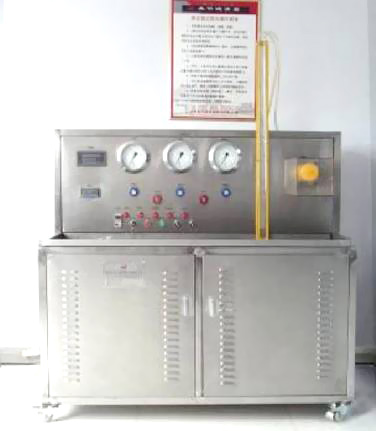 Cleanness test bench