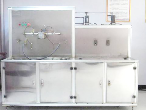Comprehensive fuel filter test bench