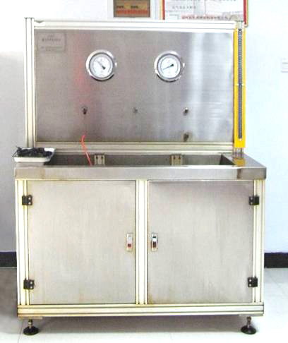 Filter element test bench