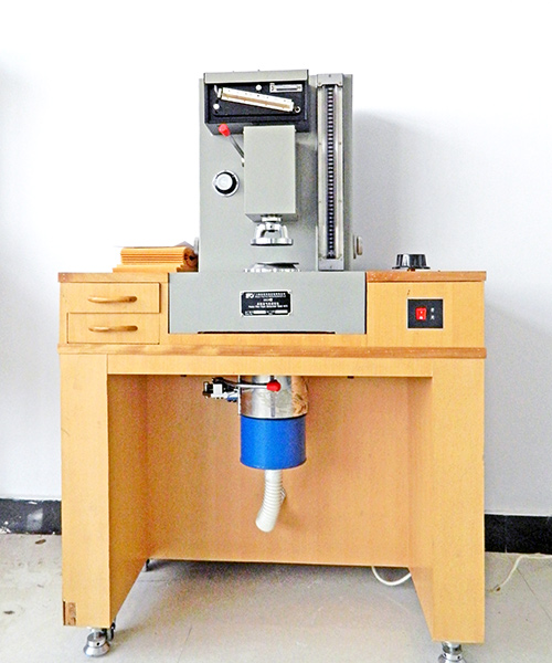 Air permeability test bench