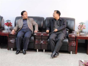 Deputy Mayor of Zibo City (Former Secretary of Yiyuan County) Han Guoxiang visited the company.